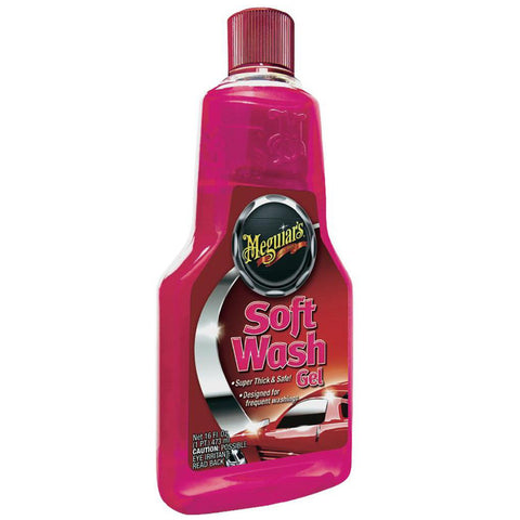 Shampoo Suave de Gel (473 ml) Soft Wash