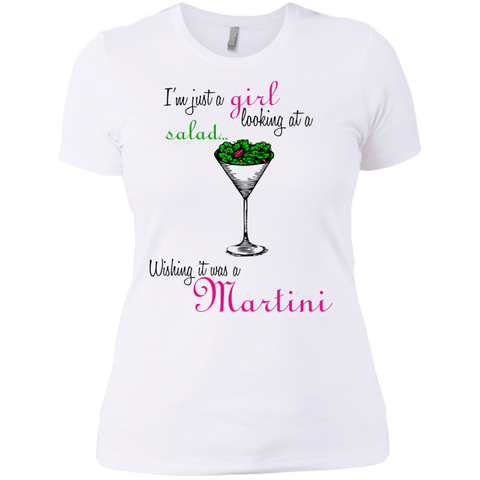 I'm Just A Girl...Martini Ladies' Tee
