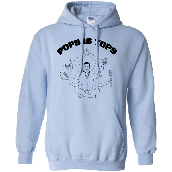 POPS IS TOPS Football, Cash, Power Drill, Spatula Hoodie