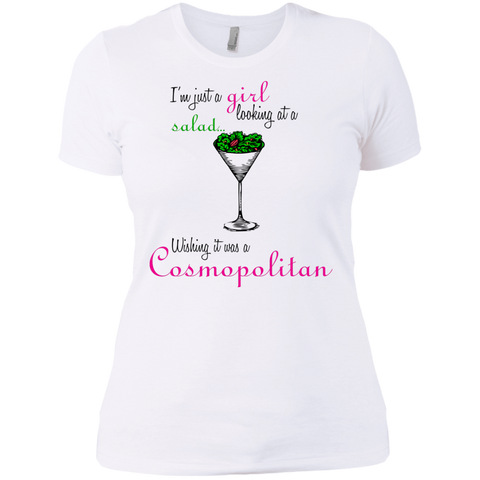 I'm Just A Girl...Cosmo Ladies' Tee