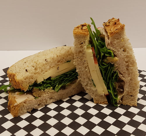 Turkey Brie Apricot & Walnut Sandwich