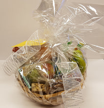 Gift Basket with Wrapping and Ribbon