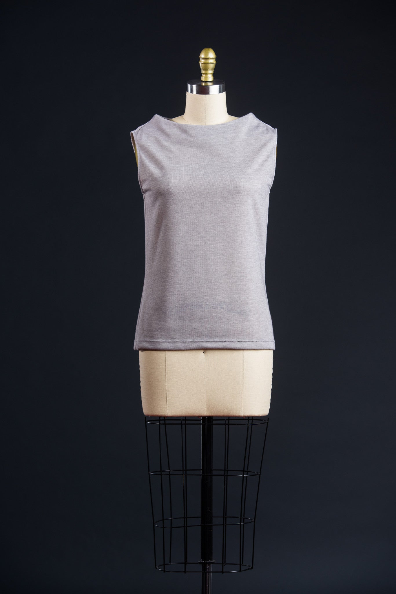 x Mock Neck Knit Top