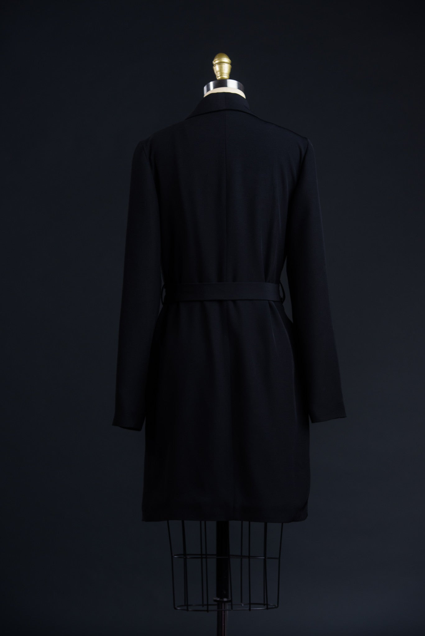 Long Shawl Collar Coat