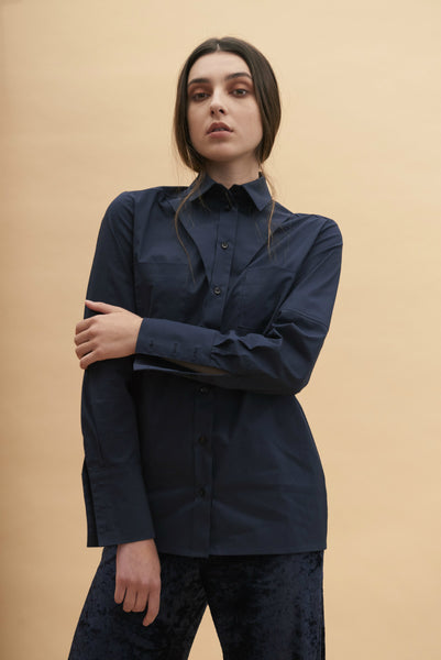 AW17 Flap Collar Shirt