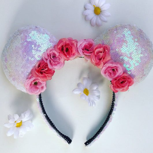 Iridescent Flower Crown