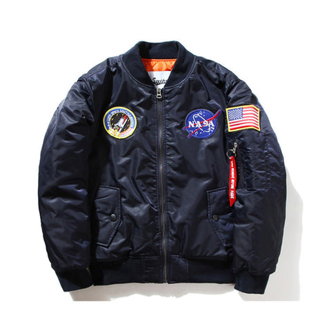 Astronaut Bomber Jacket - Alpha Style Co. - 2