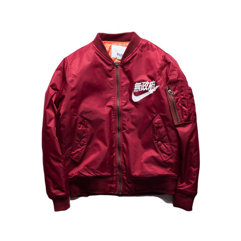 Lightning Bomber Jacket - Alpha Style Co. - 2