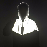 Reflective Patchwork Windbreaker - Alpha Style Co. - 6