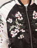 Floral Pink Reversible Bomber Jacket - Alpha Style Co. - 6