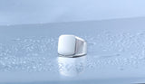 High Polished Signet Solid Ring