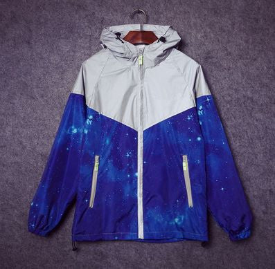 Reflective Space Windbreaker - Alpha Style Co. - 3