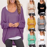 Batwing Long Sleeve Blusa Tops - 7 Premium Colors
