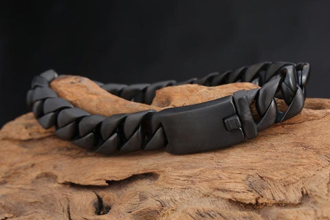 Lavish Black Grain Bracelet