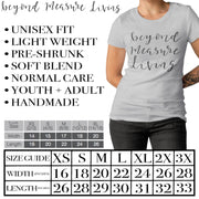 XOXO T-Shirt | Hugs and Kisses with hearts | Gray or White | Adult or Youth - Beyond Measure Living