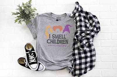 DayCare Life - I Smell Children - Hocus Pocus - Cute Funny Halloween Shirt - Beyond Measure Living