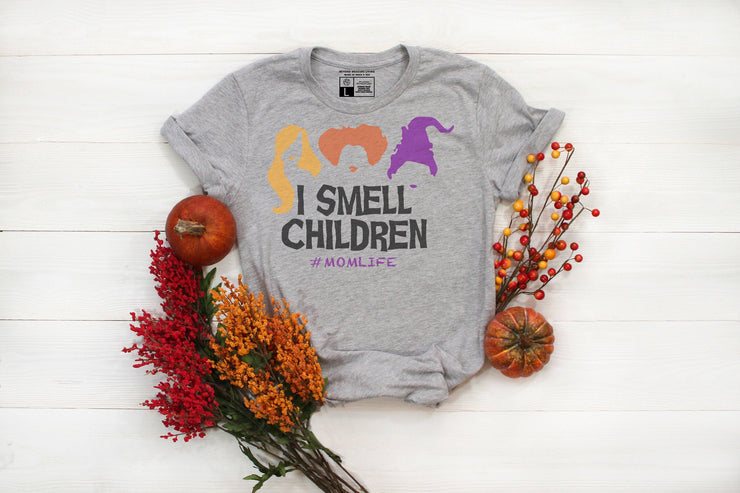 Mom Life - Hocus Pocus Shirt | I Smell Children | Cute Funny Halloween Shirt | - Beyond Measure Living