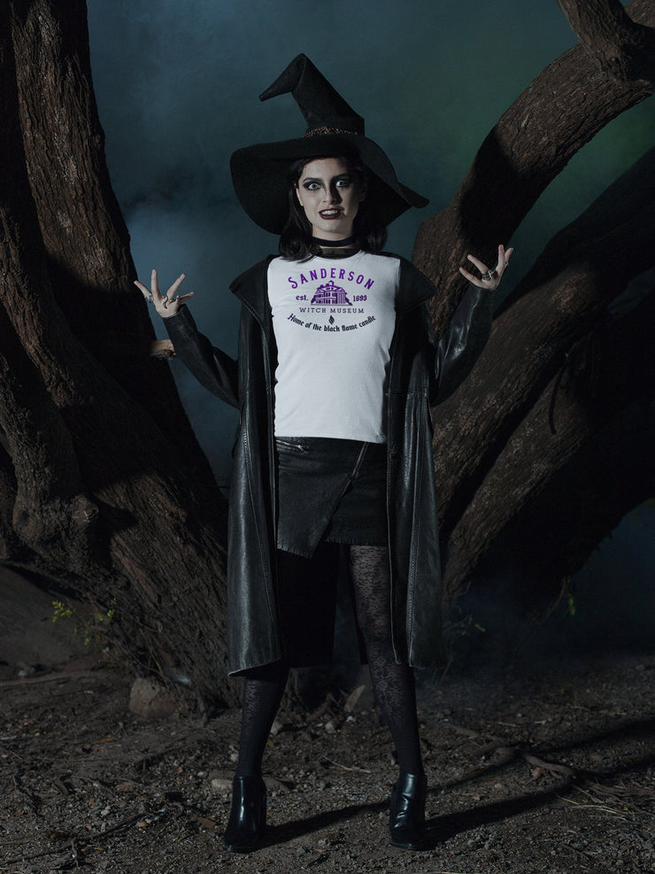 Sanderson Witch Museum T-Shirt | Home of the black flame candle - Beyond Measure Living