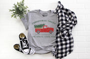 Christmas Trees Shirt | Farm Fresh, Cut Carry, Est, Fir, Spruce, Cedar, Pine - Beyond Measure Living