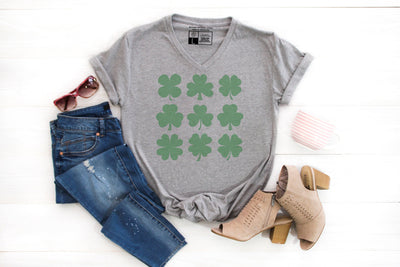 Shamrock Shapes T-Shirt - Beyond Measure Living