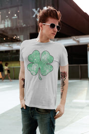 Distressed Shamrock T-Shirt - Beyond Measure Living