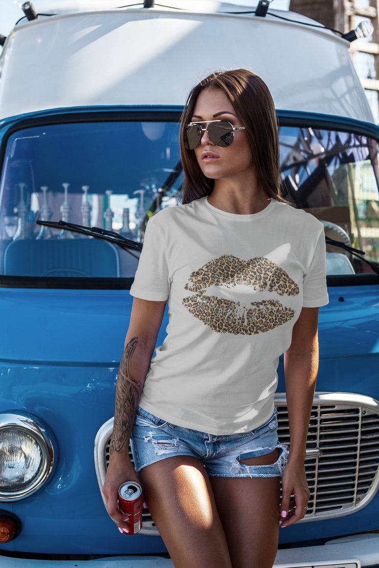 Cheetah - Leopard Lips Shirt - Beyond Measure Living