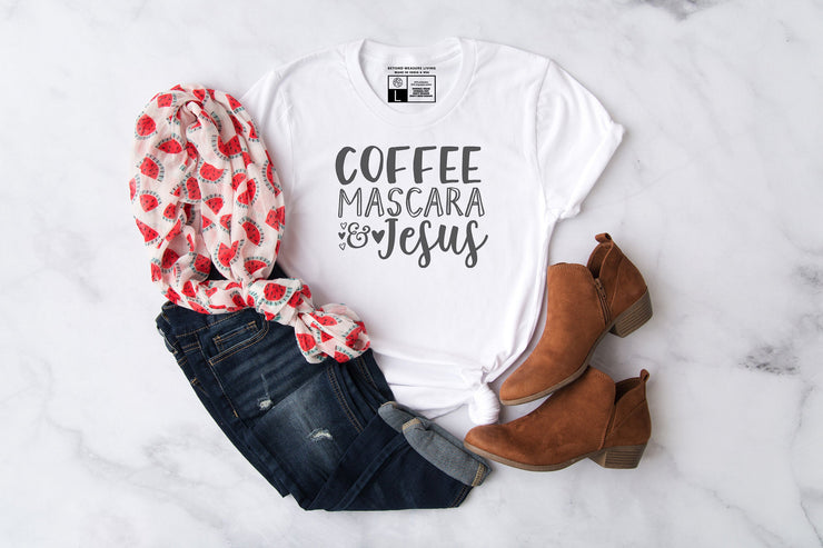Coffee, Mascara and Jesus Shirt - Beyond Measure Living