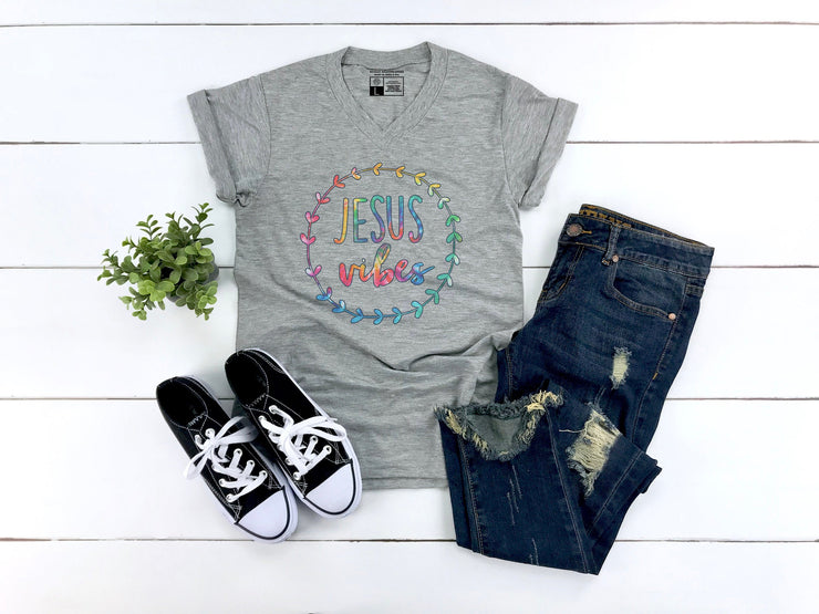 Jesus Vibes Tie Dye Shirt - Beyond Measure Living