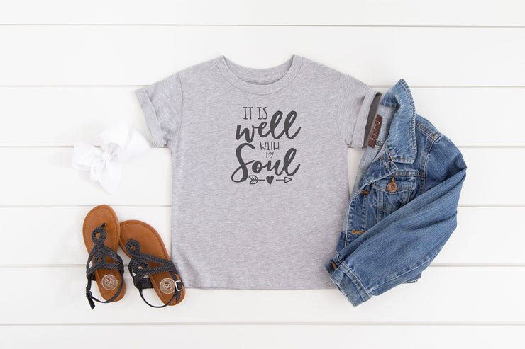 It Is Well With My Soul Shirt - Beyond Measure Living