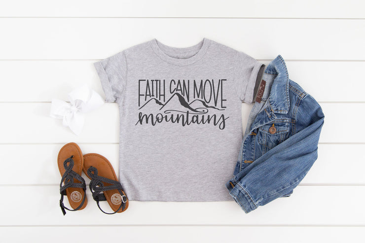 Faith Can Move Mountains Shirt - Beyond Measure Living