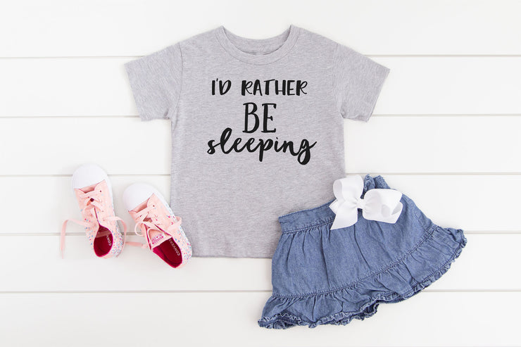 I'd Rather Be Sleeping T-Shirt - Beyond Measure Living