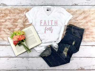 Faith Over Fear Shirt - Beyond Measure Living