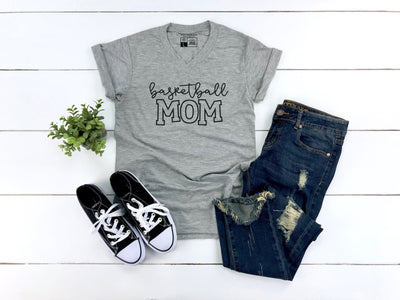 Basketball Mom Shirt - Beyond Measure Living