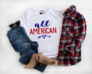 All American Shirt | Independence Day Fourth of July - Beyond Measure Living