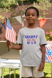 Hooray for the USA Shirt | American Tee | Independence Day Fourth of July - Beyond Measure Living