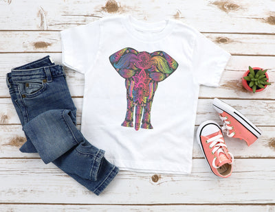 Colorful Boho Elephant Shirt | Bohemian - Beyond Measure Living