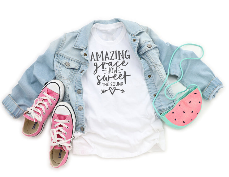 Amazing Grace How Sweet The Sound Shirt - Beyond Measure Living
