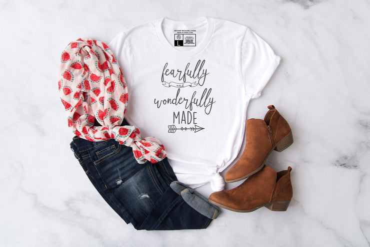 Fearfully and Wonderfully Made Shirt - Beyond Measure Living