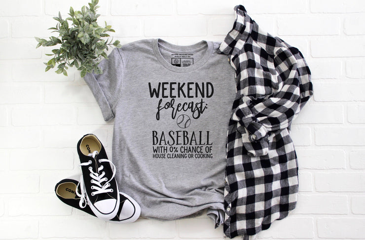 Weekend Forecast T-Shirt - Beyond Measure Living