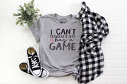 I Can't my Grandson Has a Game  T-Shirt - Beyond Measure Living