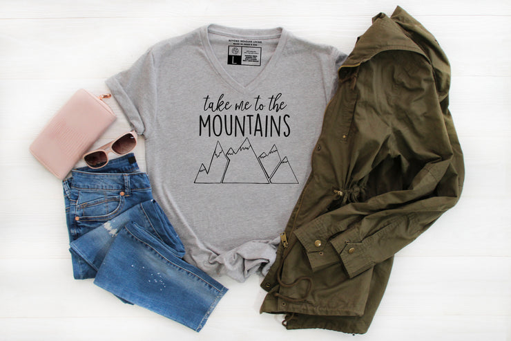 Take Me To The Mountains T-Shirt - Beyond Measure Living
