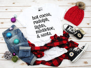 Christmas Words T-Shirt - Beyond Measure Living