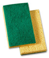 74 3.5X6.1 YELLOW/GREEN MEDIUM DUTY SCRUB SPONGE 20/CS 20688
