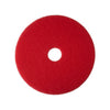 "5100 17"" RED BUFFER FLOOR PAD 5/CS 08392"