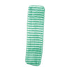 "WET MOP MICROFIBER SCRUBBER GREEN 18"" 12/BAG LWGS18"