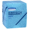 33560 KIMTEX SHOP TOWEL BLUE 1/2 FOLD 12X14 8/66/CS