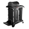 EXECUTIVE CLEANING CART BLACK HIGH SECURITY 1/CS 1861427