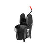 WAVEBRAKE EXEC 35QT DOWN PRESS WRINGER COMBO BLK 1/CS 1863898