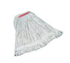 "SUPR STCH COTTON MOP LOOPED END LRG 1""HB WHT 6/CS FGD11306WH00"