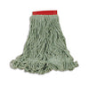 "SUPER STITCH BLEND MOP LRG 5"" HB GREEN 6/CS FGD25306GR00"